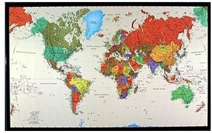 The Tyvek World Map